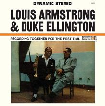 Disco de Vinil Louis Armstrong & Duke Ellington ‎– Recording Together For The First Time