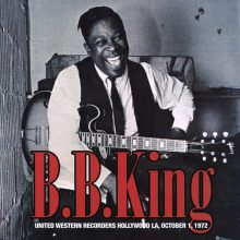 Disco de Vinil B.B. King - United Western Recorders, Holloywood LA, October 1, 1972