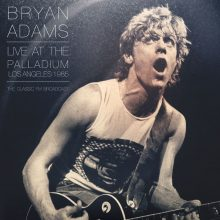 Disco de Vinil Bryan Adams - Live At The Palladium, Los Angeles 1985 The Classic FM Broadcast