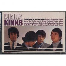 Fita Cassete K7 The Kinks - Kinda Kinks