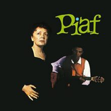 Disco de Vinil Edith Piaf With The Orchestra Of Robert Chauvigny ‎– Piaf!