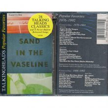 Fita Cassete k7 Talking Heads - Sand In The Vaseline