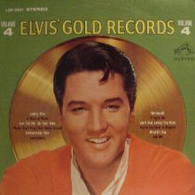 Disco de Vinil Elvis Presley ‎– Elvis' Gold Records - Volume 4