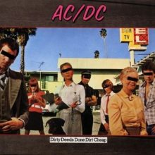 CD AC/DC DIRTY DEEDS DONE DIRT CHEAP