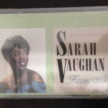 Fita Cassete k7 Sarah Vaughan ‎– Favorites