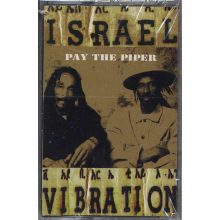Fita Cassete k7 Israel Vibration - Pay The Piper