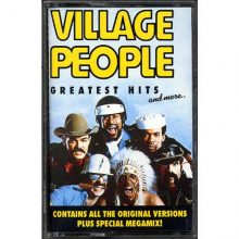 Fita Cassete k7 Village People - Greatest Hits And More
