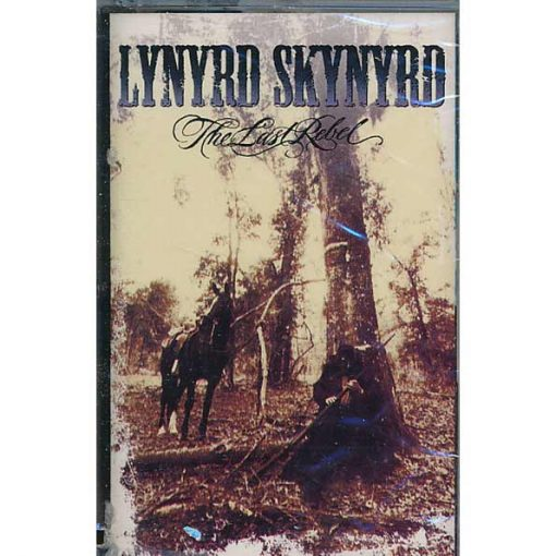 Fita Cassete k7 Lynyrd Skynyrd ‎– The Last Rebel