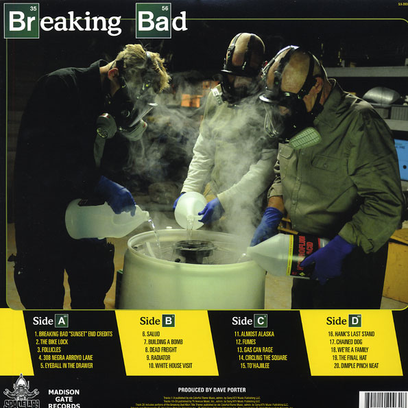 Disco de Vinil Breaking Bad: Original Score From The Television Series Volume 2