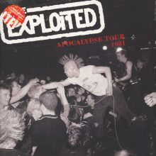 Disco de Vinil The Exploited ‎– Apocalypse Tour 1981