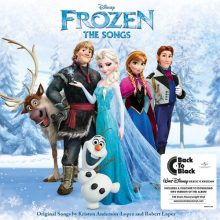 Disco de Vinil Frozen - The Songs