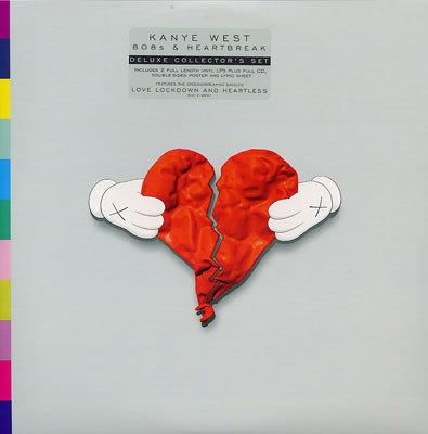Disco de Vinil Kanye West - 808s & Heartbreak