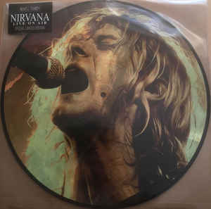 Disco de Vinil Nirvana ‎– Live On Air