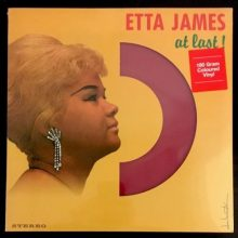 Disco de Vinil Etta James ‎– At Last!