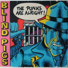 "Disco de Vinil Blind Pigs - The Punks Are Alright (VINIL 10"")"