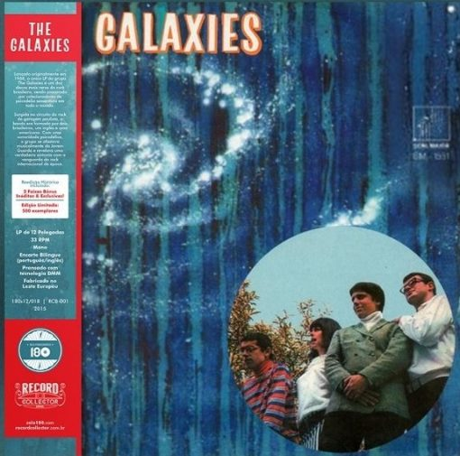 DISCO DE VINIL GALAXIES - THE GALAXIES