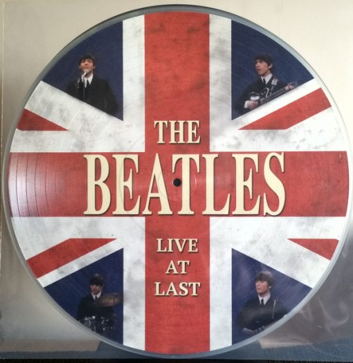 Disco de Vinil The Beatles ‎– Live At Last