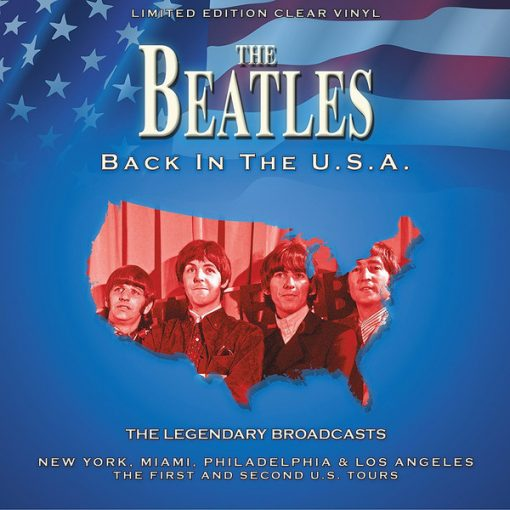 Disco de Vinil The Beatles – Back In The U.S.A. - The Legendary Broadcasts