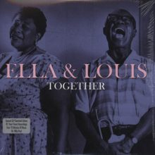 Disco de Vinil Ella & Louis Together