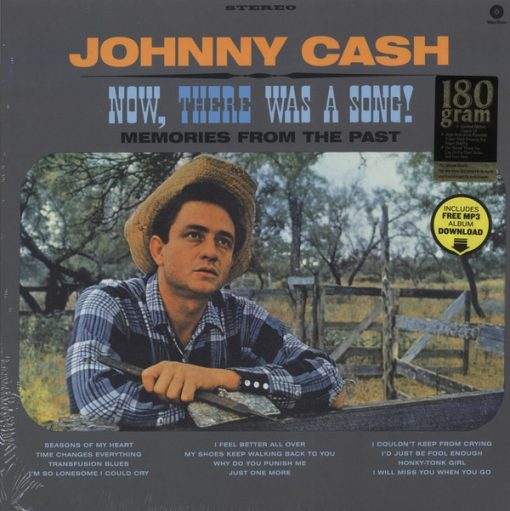 Disco de Vinil Johnny Cash - Now, There Was A Song!