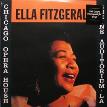 Disco de Vinil Ella Fitzgerald - Chicago Opera House & Shrine Auditorium, LA