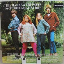 Disco de Vinil The Mamas & The Papas ‎– 16 Of Their Greatest Hits