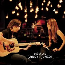 Disco de Vinil Sandy & Junior ‎– Acústico