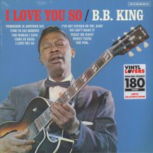 Disco de Vinil B.B. King ‎– I Love You So
