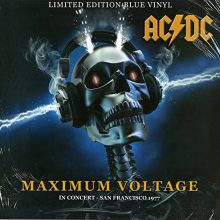 Disco de Vinil AC/DC ‎– Maximum Voltage - In Concert - San Francisco '77