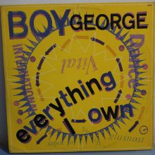 Disco de Vinil Boy George ‎– Everything I Own