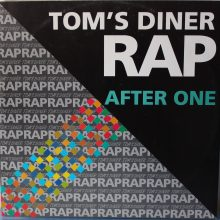Disco de Vinil After One - Tom's Diner Rap