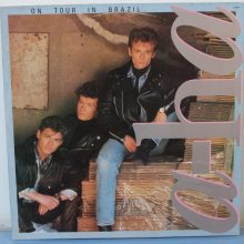 Disco de Vinil a-ha On Tour in Brazil