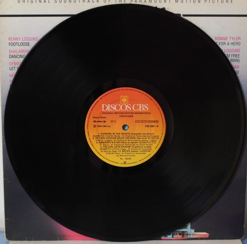 Disco de Vinil Footloose (trilha sonora)